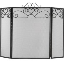 Fire Screen Heart Motif - Large