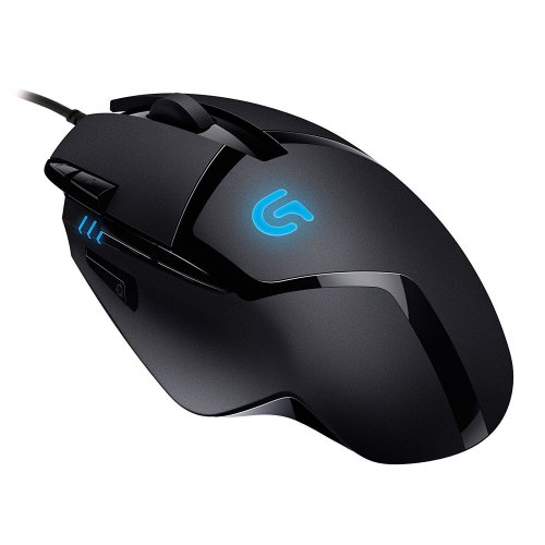 Logitech G402 Gaming Mouse Hyperion Fury with 8 Programmable Buttons - Black