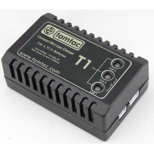 Airsoft Battery Charger  Balancer Tomtac 11.1V 7.4V 2 3 Cell Lipo Mains Uk Plug
