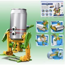 Educational Assembly Solar Power Robot Construction Kit Mechanical Powered Xmas[6 in 1 Robot]