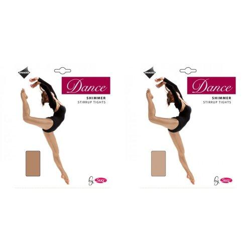 Silky Girls Dance Shimmer Stirrup Tights (1 Pair)