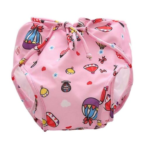 [Helium Balloon] Reuseable Baby Swim Diaper Lovely Infant Swim Nappy Swimwear