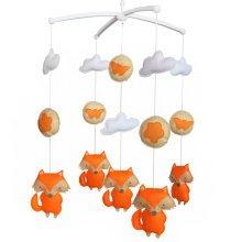 [Fox] Newborn Baby Crib Mobile, Hanging Decor Gift, Baby Toy