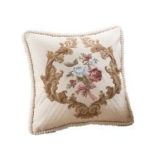 Luxurious and Elegant Throw Pillow Cover Embroidered Cushion Covers C
