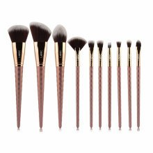 LaRoc 10pc Diamond Brush Set - Bronze
