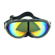 Snow Goggles Windproof Eyewear Ski Sports Goggle Protective Glasses Black/Color