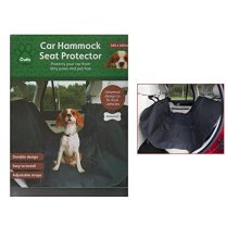 Crufts Large Durable Waterproof Car Hammock Seat Protector Cover 145cm x 145cm -  145cm large durable waterproof car hammock seat protector cover