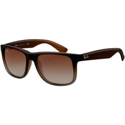 Ray-Ban Justin Brown Unisex Sunglasses RB4165-854/7Z-51