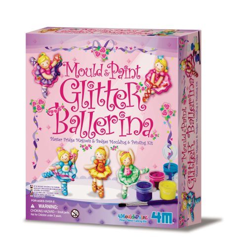 Glitter Ballerina Mould & Paint Kit