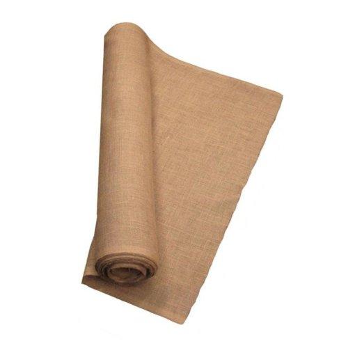 LA Linen 40IN-Burlap-20YardRoll 20 Yards Burlap Fabric, Natural - 40 in.