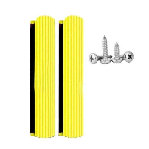 Set of 2 Universal Sponge Mop Replacement Heads, 15inch [D]
