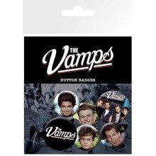 The Vamps Mix Badge Pack
