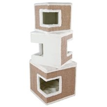 Trixie Lilo Cat Tower, 123 Cm, White - Towercm Scratching Post New -  cat trixie lilo tower white 123 cm scratching post new