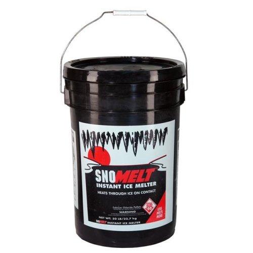 SnoMelt S5042S 50 lbs Calcium Chloride Pellet Pail