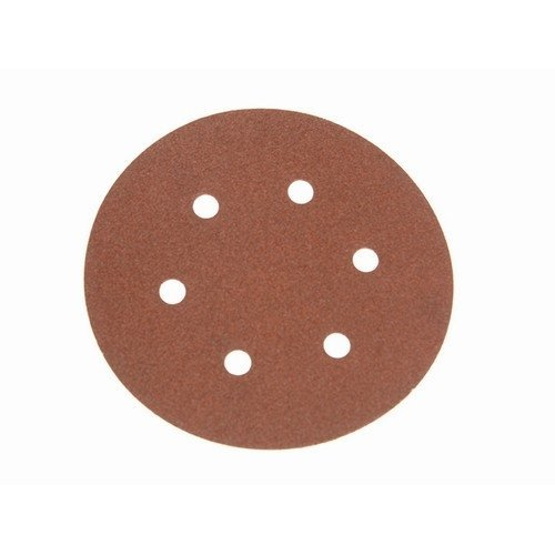 Faithfull FAIAD150120H Hook & Loop Sanding Disc DID2 Holed 150mm x 120g (Pack of 25)