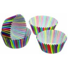 4cm Stripe Pack Of 80 Sweetly Does It Petit Paper Cake Cases