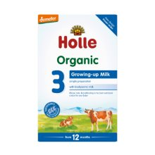 Holle  Organic Growing Up Milk 3 600g