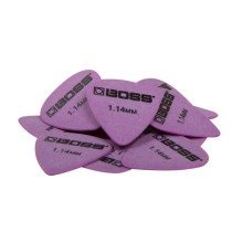 Boss BPK-12-D114 Delrin Guitar Pick 1.14mm Extra Heavy 12 x Plectrums In Pack