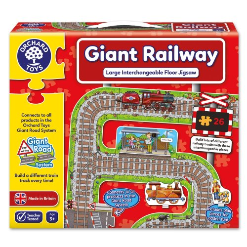 Orchard Toys Giant Railway Floor Puzzle
