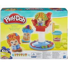 Play-Doh Crazy Cuts Barbershop, Kids Modelling Dough Creative Craft & Play Set