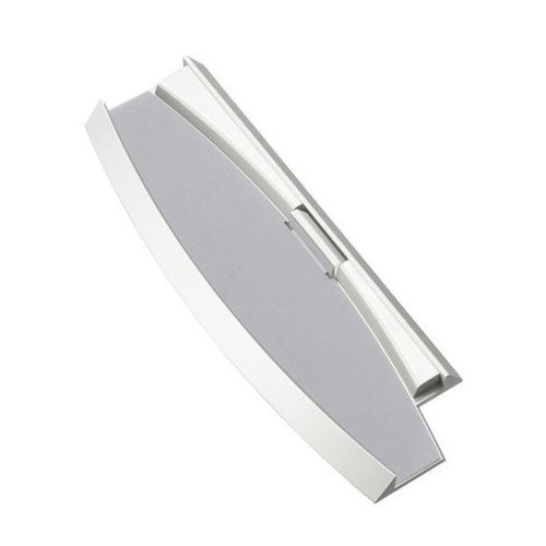 Stand for PS3 Slim 2000 3000 Sony vertical compatible ZedLabz - White