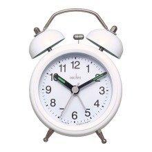 Acctim Evie White Quartz Bell Alarm Clock - Model 14612!!