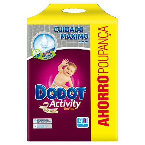Dodot Activity Baby Wipes Refill, 648Pieces
