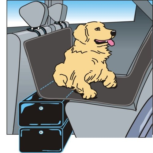 Inflatable Back Seat Extension for Dogs Bridge Gap Filler