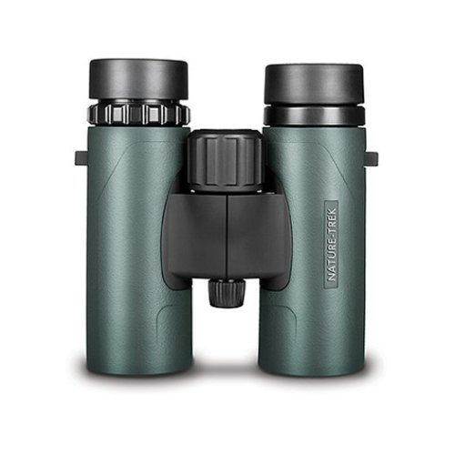 Hawke Nature Trek Binoculars - BAK 4 Roof Prism - 8x32 Green - latest version