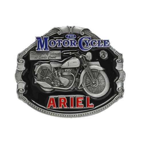 ARIEL Motorcycle Officially Licensed Belt Buckle