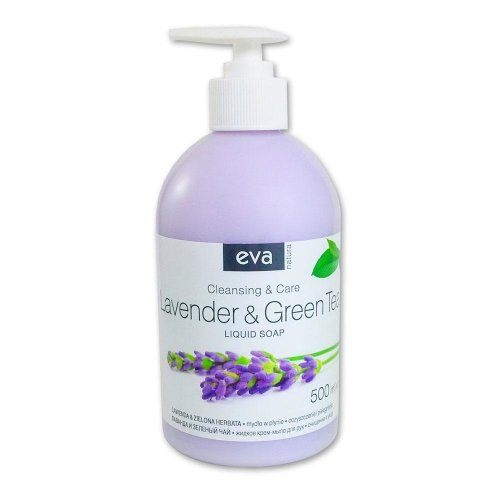 EVA Creamy Soap Lavender & Green Tea