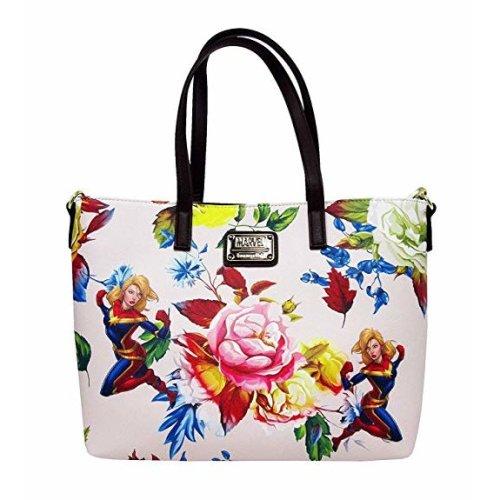 Tote Bag - Marvel - Captain Marvel Floral mvtb0067