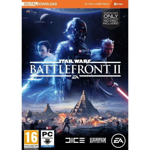 Star Wars Battlefront 2 The Last Jedi Heroes Video Game PC - Code in a Box