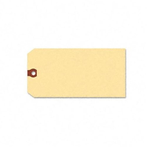 Unstrung Shipping Tag with Reinforced Eyelet  Paper  6-1/4 x 3-1/8  Manila  1000/Pk