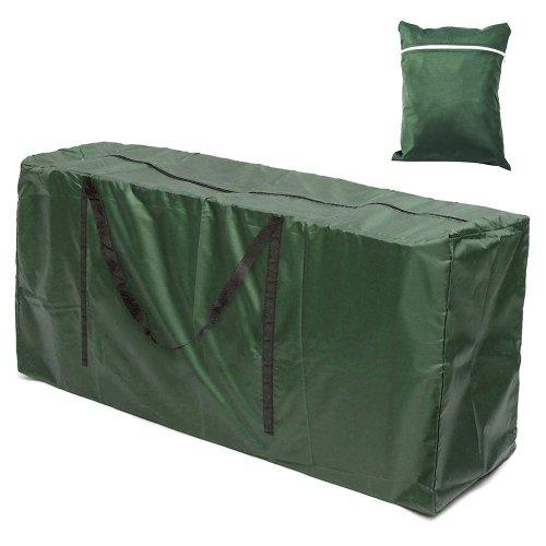 Windyeu Outdoor Garden Furniture Cushion Storage Bag Waterproof Lightweight Heavy Duty Seat Pads Patio Carry Handbag