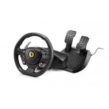 Thrustmaster T80 Ferrari 488 GTB Edition Steering wheel + Pedals PlayStation 4 Black