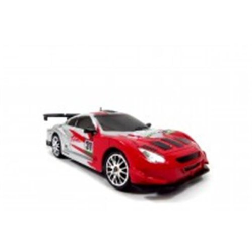 Az Import & Trading C2483B Red Super Fast RC Drift Race Car White, 1-24
