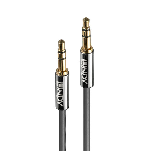 Lindy 35322 audio cable 2 m 3.5mm Anthracite