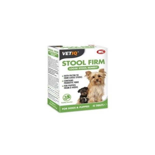 VetIQ Stool Firm Dog Tablets