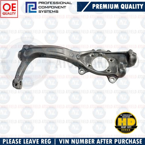 FOR AUDI A4 FRONT AXLE LEFT LH STUB AXLE KNUCKLE HUB ASSEMBLY 8E0407253E