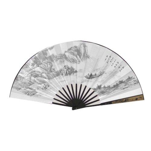 Chinese Style Folding Fan Summer Fan Men's Fan