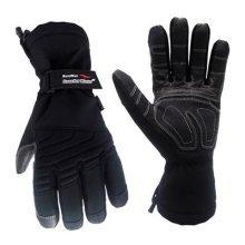 Cestus GAUNTLET W-5041 L Temp Series HM Gauntlet Winter Insulated Glove, Work, Large, Black