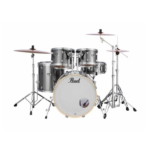 Pearl EXX725BR/C21 Export Smokey Chrome drum kit