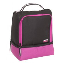 Active 2 Compartment Lunch Coolbag  Raspberry