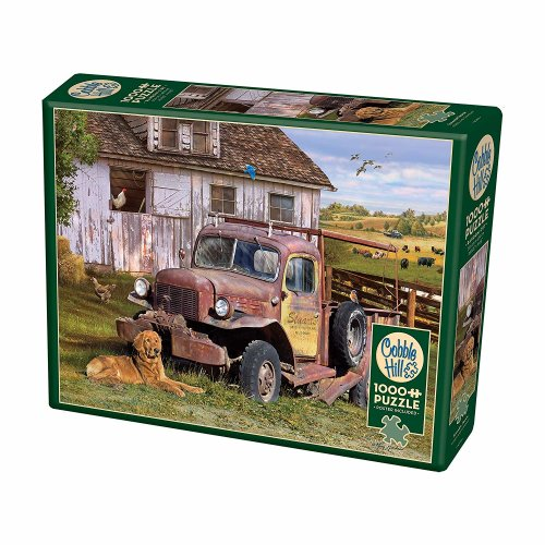 CBL80199 - Cobblehill Puzzles 1000 pc - Summer Truck