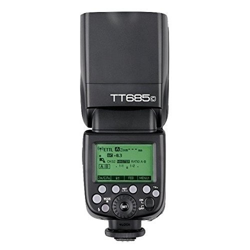 Godox TT685C TTL Camera Flash HSS High Speed 1/8000s GN60 Speedlite for Canon Cameras