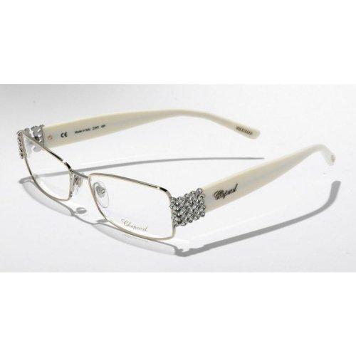 Chopard Glasses VCH788S 501 Palladium Ivory