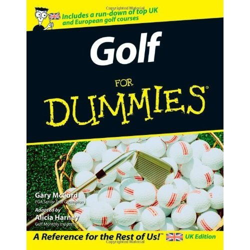 Golf For Dummies - UK Edition