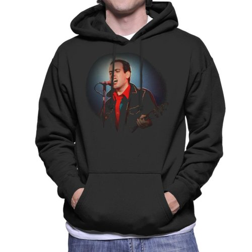TV Times Mick Jones Of The Clash Men's Hooded Sweatshirt