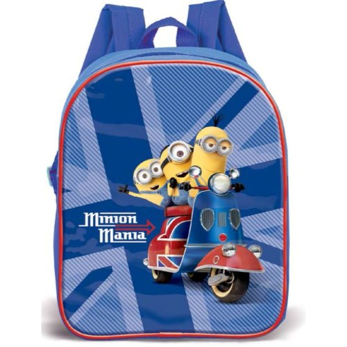Clearance Kids Back Pack Me Minions Dave Stuart Kevin Moped Junior Travel Bag